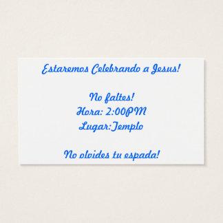 Fiesta Business Card