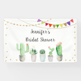 DaShan 14x10ft Saguaro Cactus Baby Shower Party Backdrop Fiesta Bridal Shower Banner Cactus Desert Party Mexican Theme Birthday Photography Background Happy Birthday Decor Photo Studio Props