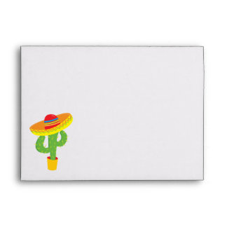 Fiesta Cactus Celebration Cinco De Mayo Envelope