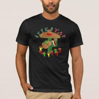 Fiesta Cactus with Guitar & Dancing Peppers T-Shirt