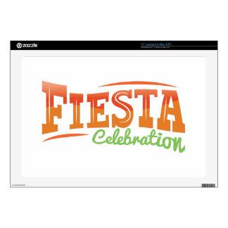 "Fiesta Celebration Skin For 17"" Laptop"