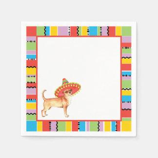 Fiesta Chihuahua Paper Napkin