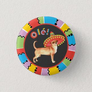 Fiesta Chihuahua Pinback Button