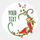 Fiesta Chili Peppers Sticker