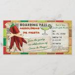 "Fiesta Cinco De Mayo Boarding Pass Invitation<br><div class=""desc"">For more like this,  visit TerraCosmos!</div>"