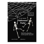 Fiesta colgante de Halloween de los esqueletos