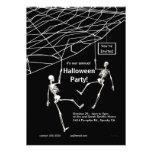 Fiesta colgante de Halloween de los esqueletos Comunicado