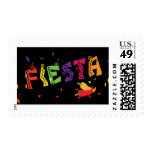Fiesta Colorful Cinco De Mayo Party Postage Stamp