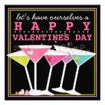 Fiesta colorido feliz del día de San Valentín de l Anuncio