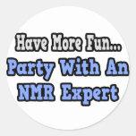 Fiesta con un experto del RMN Etiquetas