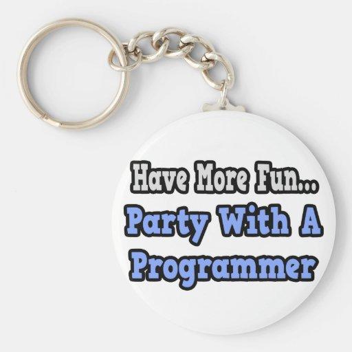 Fiesta con un programador llavero personalizado