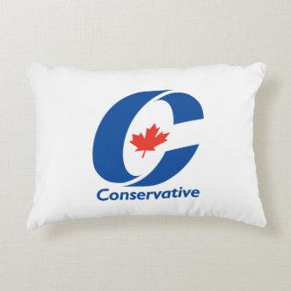 Fiesta conservador de Canadá Cojín Decorativo