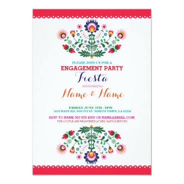 engagements Fiesta Couples Shower Engagement Mexican Invite