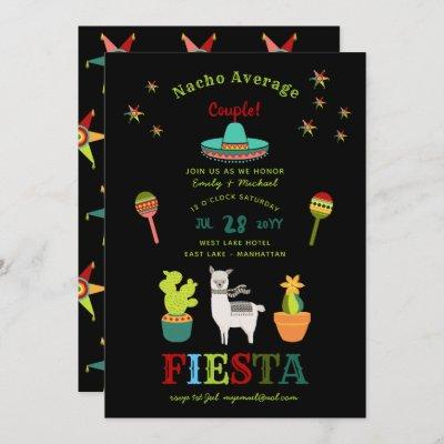 FIESTA COUPLES SHOWER Nacho Average Couple FUN Invitation