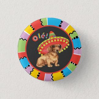 Fiesta Dachshund Pinback Button
