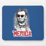 Fiesta de Abraham Lincoln 'Merican Mouse Pads