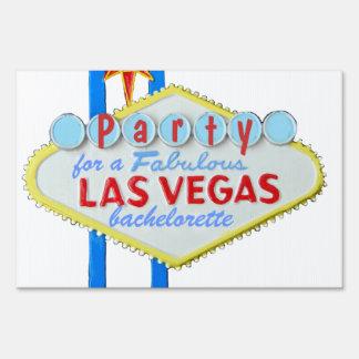 Fiesta de Bachelorette de la muestra de Las Vegas Señal