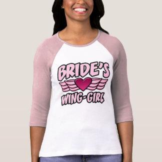 Fiesta de Bachelorette del Ala-Chica de la novia Camisetas