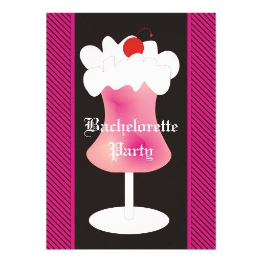 Fiesta de Bachelorette del daiquirí de fresa Anuncios