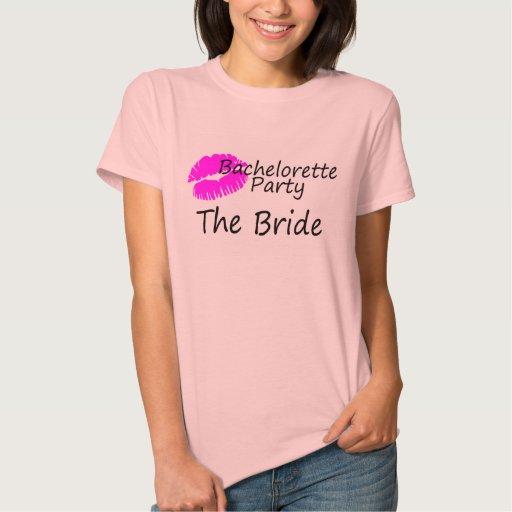 Fiesta de Bachelorette la novia Tshirt
