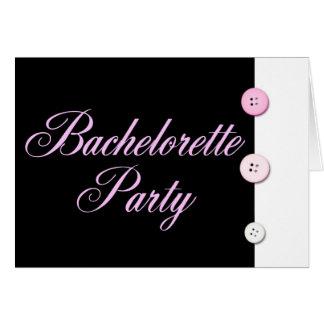 Fiesta de Bachelorette Tarjeta De Felicitación