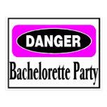Fiesta de Bachelorette Tarjeta Postal