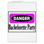 Fiesta de Bachelorette Tarjetas