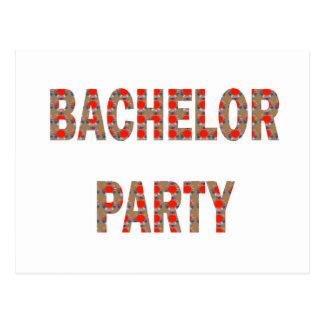 FIESTA DE BACHOLER: Compromiso, boda, luna de miel Tarjeta Postal