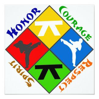 Fiesta de Bday de los muchachos del karate Comunicado Personalizado