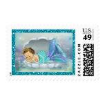 Fiesta de bienvenida al bebé adorable #130 del timbres postales