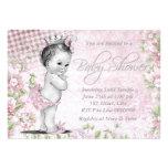 Fiesta de bienvenida al bebé adorable del rosa del