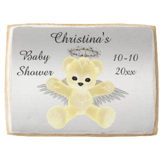 Fiesta de bienvenida al bebé amarilla del oso de