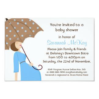 Fiesta de bienvenida al bebé azul - topetón invitaciones personales