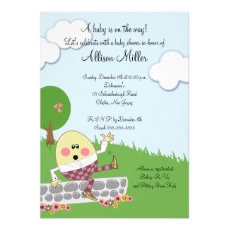 Fiesta de bienvenida al bebé de Humpty Dumpty Anuncio Personalizado