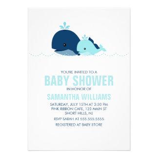 Fiesta de bienvenida al bebé de la ballena de la m