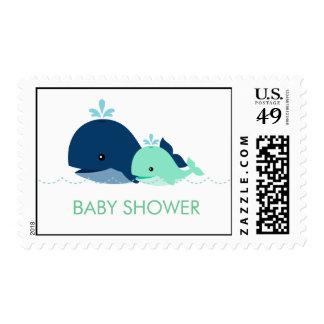 Fiesta de bienvenida al bebé de la ballena de la franqueo