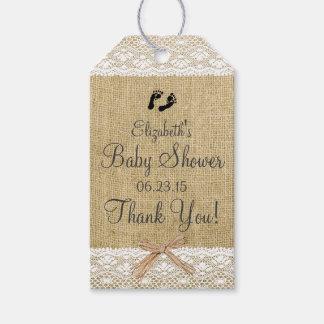 Fiesta de bienvenida al bebé de la imagen de la etiquetas para regalos