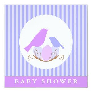 Fiesta de bienvenida al bebé de la jerarquía de anuncio personalizado