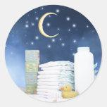 Fiesta de bienvenida al bebé de la luna azul y de