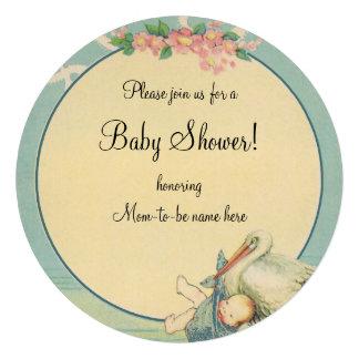 Fiesta de bienvenida al bebé de la manta azul del