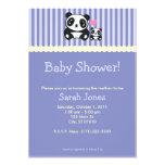 Fiesta de bienvenida al bebé de la panda - púrpura anuncios