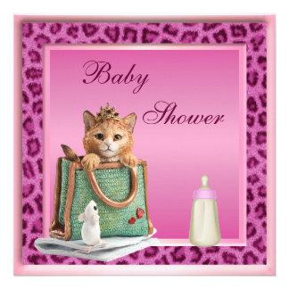 Fiesta de bienvenida al bebé de la piel de princes invitación