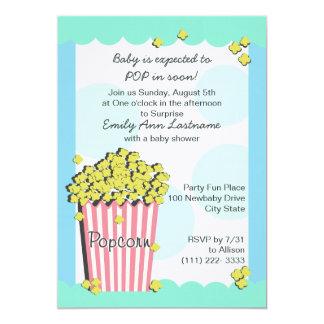 Fiesta de bienvenida al bebé de las palomitas comunicado personal