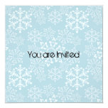 Fiesta de bienvenida al bebé de los copos de nieve comunicado personal