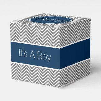 Fiesta de bienvenida al bebé de los galones del caja para regalos de fiestas