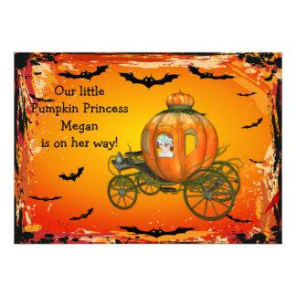 Fiesta de bienvenida al bebé de princesa Halloween
