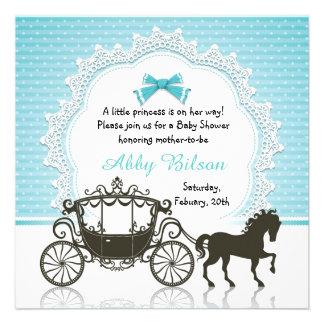 Fiesta de bienvenida al bebé de princesa Horse Car
