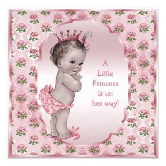 Fiesta de bienvenida al bebé de princesa Pink Anuncios Personalizados