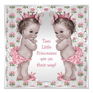 Fiesta de bienvenida al bebé de princesa Roses Anuncios Personalizados