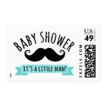 Fiesta de bienvenida al bebé del bigote es aguamar sello